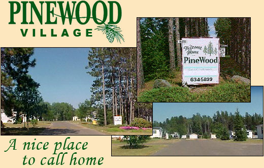 "Pinewood Village montage...""A nice place to call home!"""